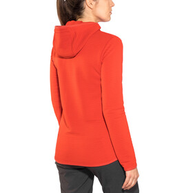 Jack Wolfskin Modesto Hooded Jacket Women volcano red